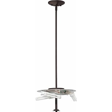 Volume Lighting Esprit 3 Light Mini Pendant; Antique Bronze