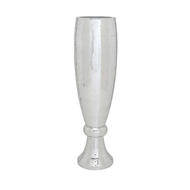 Woodland Imports Mirror Mosaic Vase; 48'' H x 12'' W x 12'' D