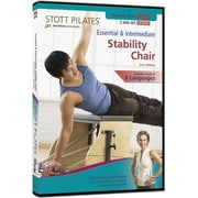 STOTT PILATES 2nd Edition Essential and Intermediate Stability Chair DVD (Set of 2)