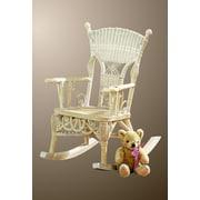 Yesteryear Victorian Child's Millie Rocking Chair; Whitewash