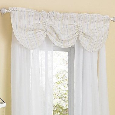Laugh, Giggle & Smile Zen Garden 44'' Window Curtain Valance