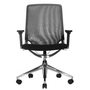 Wobi Office Marco Low-Back Mesh Chair with Adjustable Armrest; Adjustable