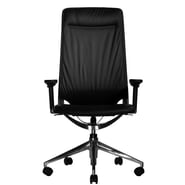 Wobi Office Marco II High-Back Leather Chair; Adjustable