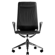 Wobi Office Marco II High-Back Leather Chair; Standard