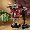 Design Toscano Rex, the Bachelor Bulldog Sculptural End Table
