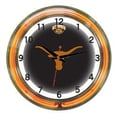 Wave 7 NCAA 18'' Team Neon Wall Clock; Texas
