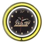 Wave 7 NCAA 14'' Team Neon Wall Clock; Army