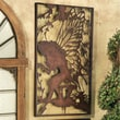 Design Toscano Secret Garden Fairy Starglow Metal Wall Decor