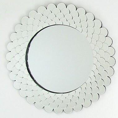 Wayborn Round Beveled Wall Mirror