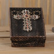 Wilco Home Metal Cross Box