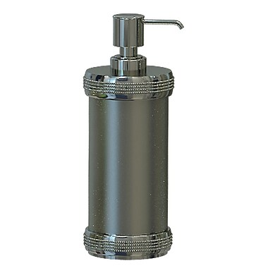 NU Steel Ferruccio Soap & Lotion Dispenser; Pewter