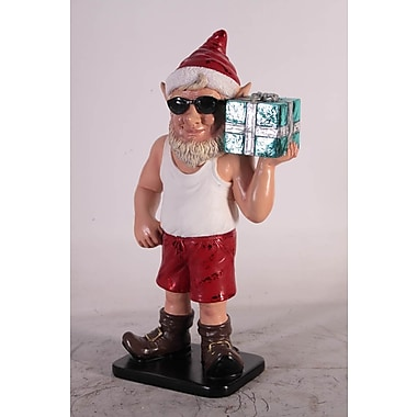 Queens of Christmas Elf Figurine w/ Gift