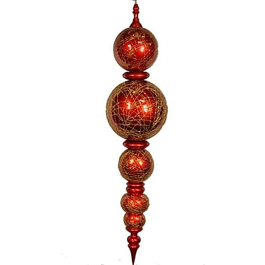 Queens of Christmas Shatterproof Finial Ornament