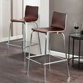 Holly & Martin 29.25'' Bar Stool (Set of 2); Espresso