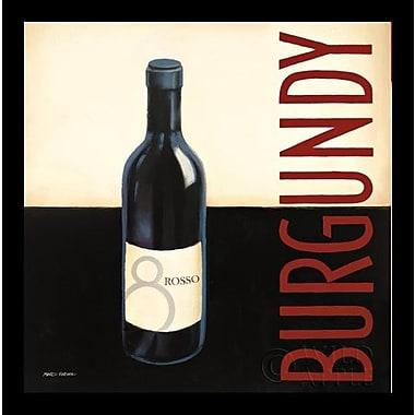 Printfinders 'Vin Moderne II' by Marco Fabiano Framed Vintage Advertisement