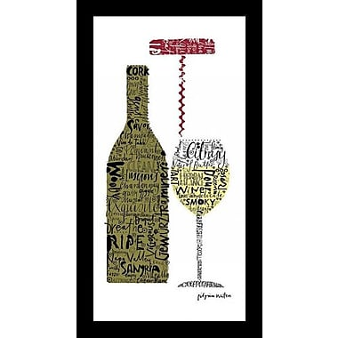 Printfinders 'Savor White' by Susy Pilgrim Waters Framed Graphic Art