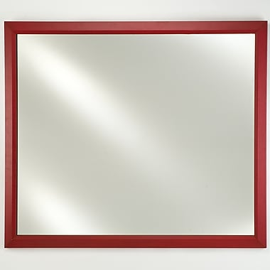 Afina Signature Edge Plain Wall Mirror; 20'' H x 30'' W