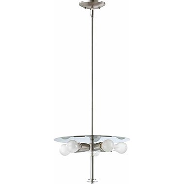 Volume Lighting Esprit 5-Light Mini Pendant; Brushed Nickel