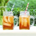 Cathys Concepts Mr. & Mrs. Old Fashioned Drinking Jar (Set of 2)