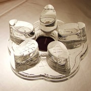 Patch Magic Leaf Shaped Glass Tea Warmer