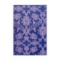 Koko Company Fuchsia Flower Mat; Lavender