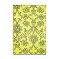 Koko Company Fuchsia Flower Mat; Slate