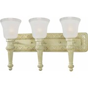 Volume Lighting Alexandria 3 Light Bathroom Vanity Light; Golden Coral