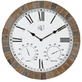 River City Clocks 15'' Tile Wall Clock
