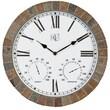 River City Clocks 15'' Tile Wall Clock