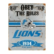 The Party Animal NFL Vintage Advertisement; Detroit Lions