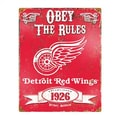 The Party Animal NHL Vintage Advertisement; Detroit Red Wings