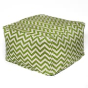 OC Fun Saks Bean Bag Ottoman; Apple
