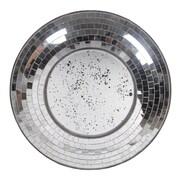Privilege Mosaic Round Wall Mirror