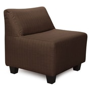 Howard Elliott Pod Sterling Slipper Chair; Chocolate