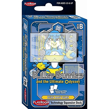 Playroom Entertainment Killer Bunnies Odyssey Technology B Booster Deck Game