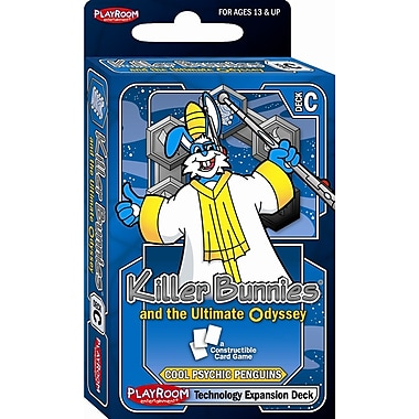 Playroom Entertainment Killer Bunnies Odyssey Technology C Booster Deck Game