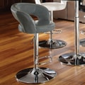 Standard Furniture Cosmo 25'' Adjustable Bar Stool ; Grey