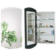 Alno Euro 15'' x 30'' Recessed Medicine Cabinet