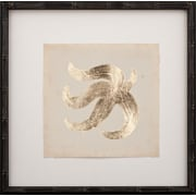 Mirror Image Home Gold Leaf Starfish II Framed Graphic Art