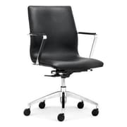 dCOR design Herald Low Back Office Chair; Black