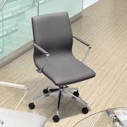 dCOR design Herald Low Back Office Chair; Gray