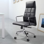 dCOR design Controller High Back Office Chair; Black
