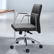 dCOR design Dean Low Back Office Chair; Black