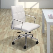 dCOR design Controller Low Back Office Chair; White