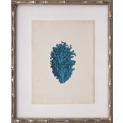 Mirror Image Home Mini Turquoise Coral IV Framed Graphic Art