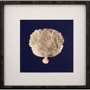 Mirror Image Home Gold Leaf Coral II Framed Graphic Art