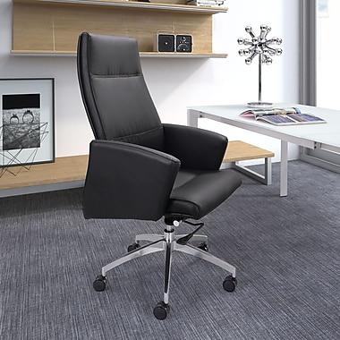 dCOR design Chieftain High Back Office Chair; Black