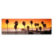 Great Big Photos Manhattan Beach Pier Photographic Print on Canvas