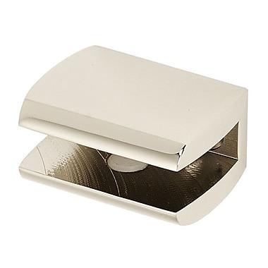 Alno Manhattan 1.75'' W Bathroom Shelf (Set of 2); Polished Nickel