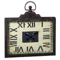 CBK 33.08'' Rectangle Pocket Watch Clock